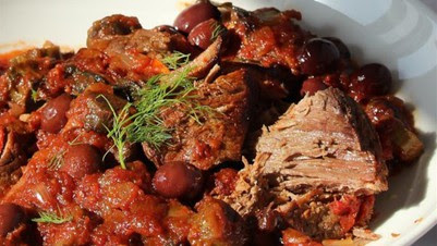 Mediterranean Beef with Artichokes