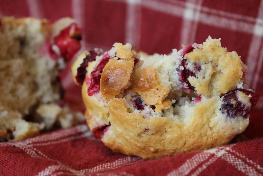 A 3 Step Delicious Super Easy Cranberry Orange Muffin Recipe Lectin Free