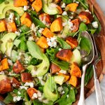 Arugula Avocado Sweet Potato Salad