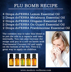 Feeling like you've got a cold or flu?? Be rid of it with this flu bomb recipe!