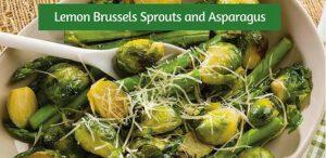 Sautéed Brussels Sprouts and Asparagus with dōTERRA Lemon Oil