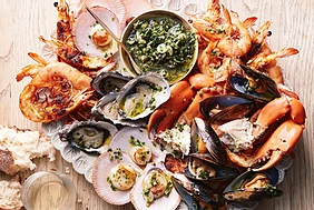 Seafood. Good for you or not