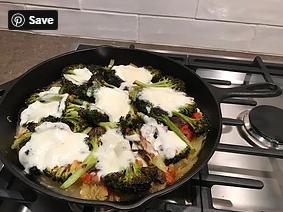 Spaghetti Squash with Roasted Broccoli (GF) DELICIOUS!