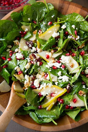 Spinach & Feta Salad